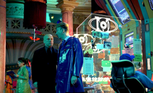Christoph Waltz and David Thewlis explore the surreal world of The Zero Theorem